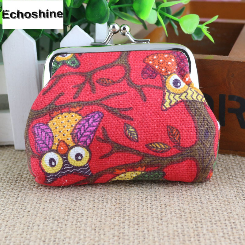 Fashion Women Lovely Style Lady Small Wallet Hasp Owl Purse Clutch Bag&multiple Colour A1000