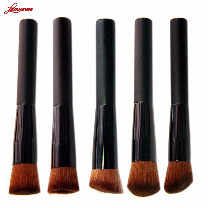 LEARNEVER Premium Brush Face Make up Tool Beauty Cosmetics  Liquid Foundation Brush  Powder Makeup Brushes Set Brush M02840 multifunction liquid foundation brush pro powder makeup brushes set best selling make up tool 2016