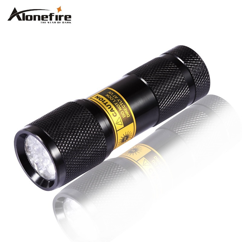 SUPERIA 9LED 365nm LED Light UV Flashlight /Ultraviolet Light for UV Leak Detector (365nm Best world ultraviolet lamp) mikado ultraviolet 0 28 150 м 9 70 кг