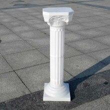 2 шт., модные свадебные реквизиты, декоративные римские колонны, белые пластиковые колонны, цветочный горшок, дорожные, свинцовые, вечерние, для мероприятий