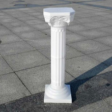 Free Shipping 2pcs Fashion Wedding Props Decorative Roman Columns White Plastic Pillars Flower Pot Road Lead Stand Party Event