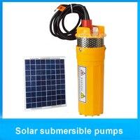 24V 12V 6l Min 70meter Lifting Submersible Solar Water Pump Membrane Solar Fountain To Membrane Water