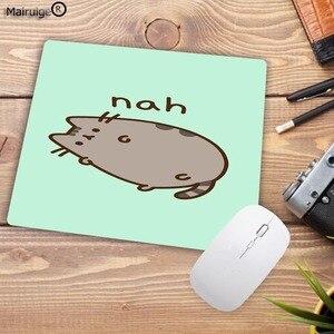 Image 4 - Mairuige גדול קידום משטח עכבר חמוד חתול תמונה אנטי להחליק מחשב נייד מחשב עכברים Pad Mat שטיחי עכבר אופטי לייזר עכבר 22X18CM