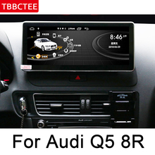 For Audi Q5 8R 2008~2017 MMI Navigation Multimedia Player Android Car Radio GPS WiFi BT Audio Video System WIFI MAP HD Screen леггинсы printio желто зеленый узор