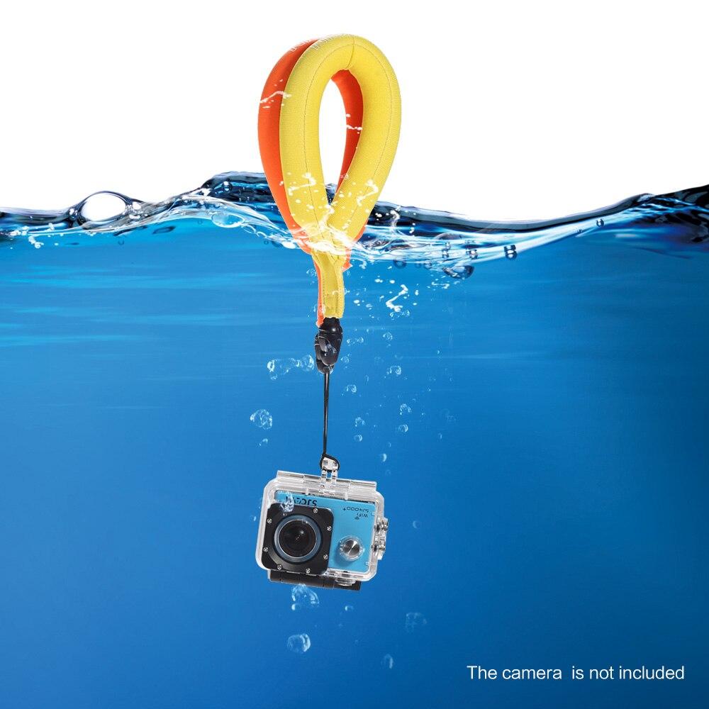 TELESIN 2 pcs Flottant Dragonne Flotteur de L'appareil Photo Dragonne pour GoPro Hero 6 5 4 3 2 Session SJCAM Xiaomi YI, Mijia 4 K Accessoires