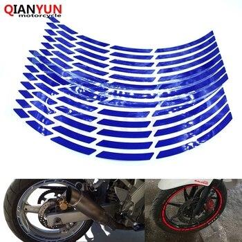 """Nueva cinta reflectante de llanta para motocicleta de 17 """"18"""" 19 """"cinta reflectante de llanta para SUZUKI HAYABUSA/GSXR1300 GSX650F GSF650 bandido GSX1250 F"""
