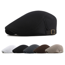 Summer Men Berets Military Beret Mesh Dad Hat Breathable Hat