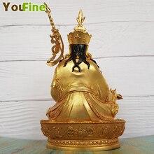 Bronze Guru Rinpoche, Padmasambhava Statue The Perfect Master of Tantric Buddhism