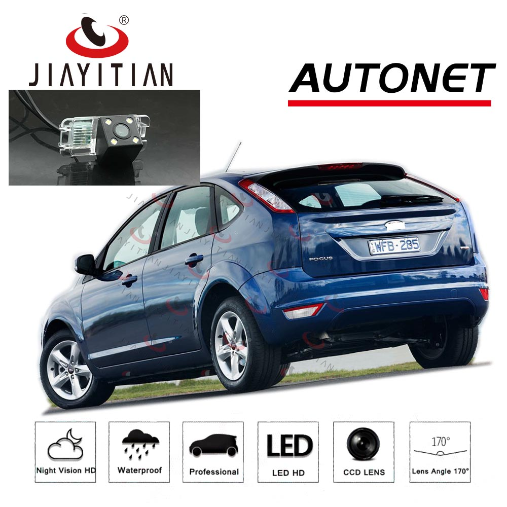 JiaYiTian Rearview Camera For Ford Focus 2 MK2  2005 2006 2007 2004~2011/CCD/Night Vision Reverse Camera License Plate Camera