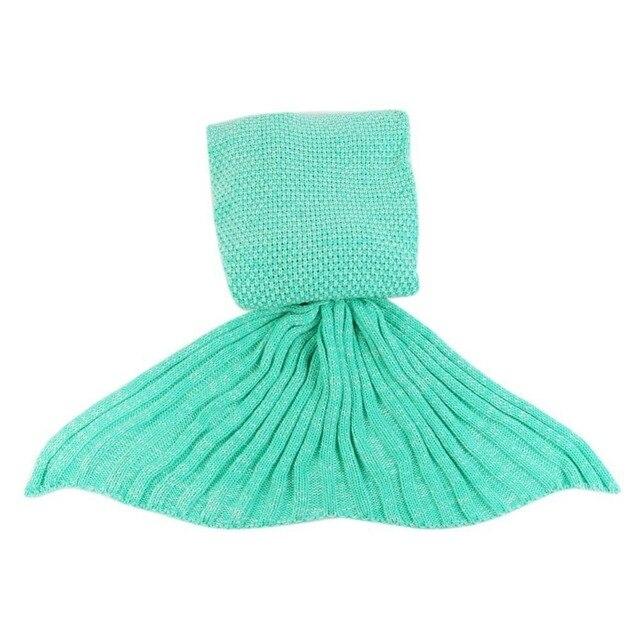 Mermaid Tail Shape Blanket 6