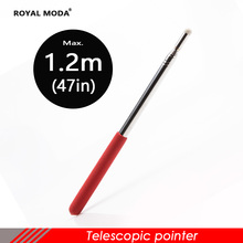 1.2m telescopic pointer with felt touch pen for Infrared interactive electronic whiteboard TV touch large screen demo pointer