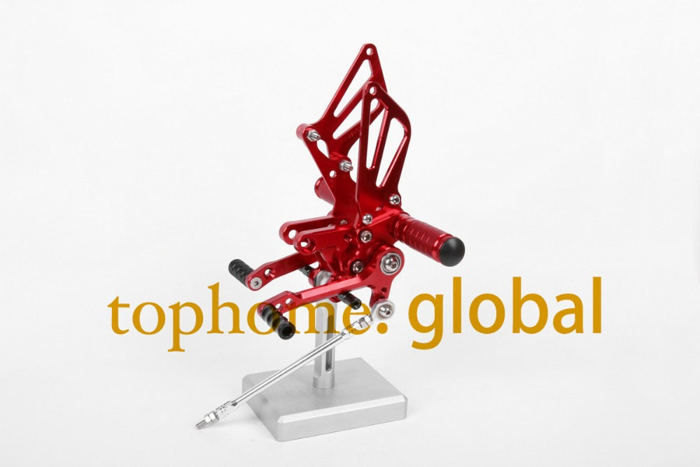 Free Shipping Motorcycle Red CNC Rearsets Foot Pegs Rear Set For Suzuki GSXR600 2000-2005 2001 2002 2003 2004 american tourister american tourister herolite 26g 94103