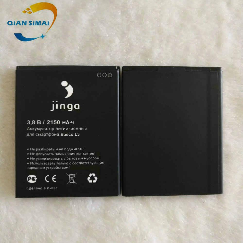 Новый 100% высококачественный аккумулятор jinga Basco L3 для мобильного телефона jinga Basco L3