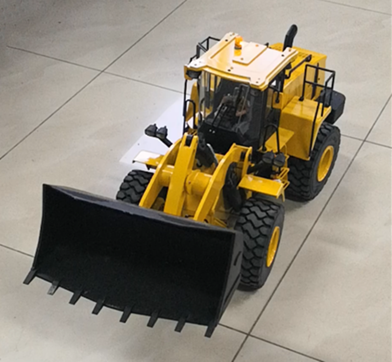 1 14 RC Remote Control Hydraulic Bulldozer Wheel Loader Construction Vehicle Model Child Boy Christmas Gifts