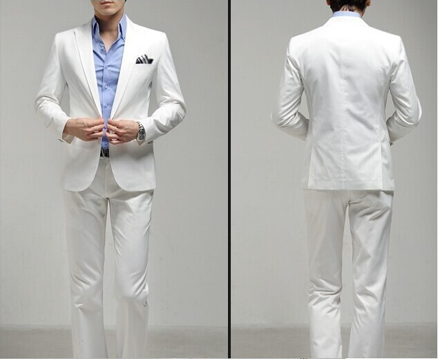 one button white 2