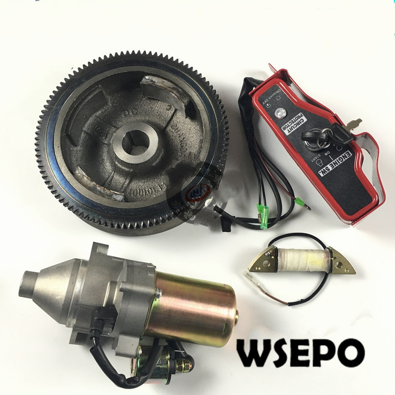 ELECTRIC START KIT FOR HONDA GX240 GX270 8HP 9HP 242CC 270CC 3 5KW