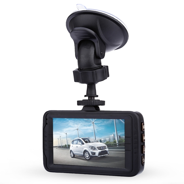 RH - Q4N Car DVR Recorder Car Camera 3 Inch 1080P Full HD 170 Degree Wide Angle Lens Automobile DVR Data Recorder G-sensor