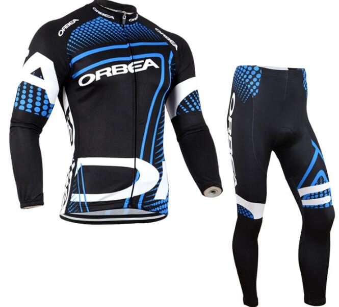 Camiseta de ciclismo transpirable de secado rápido para hombre ORBEA Rupa ciclismo conjuntos de Gel 9D largo primavera y otoño