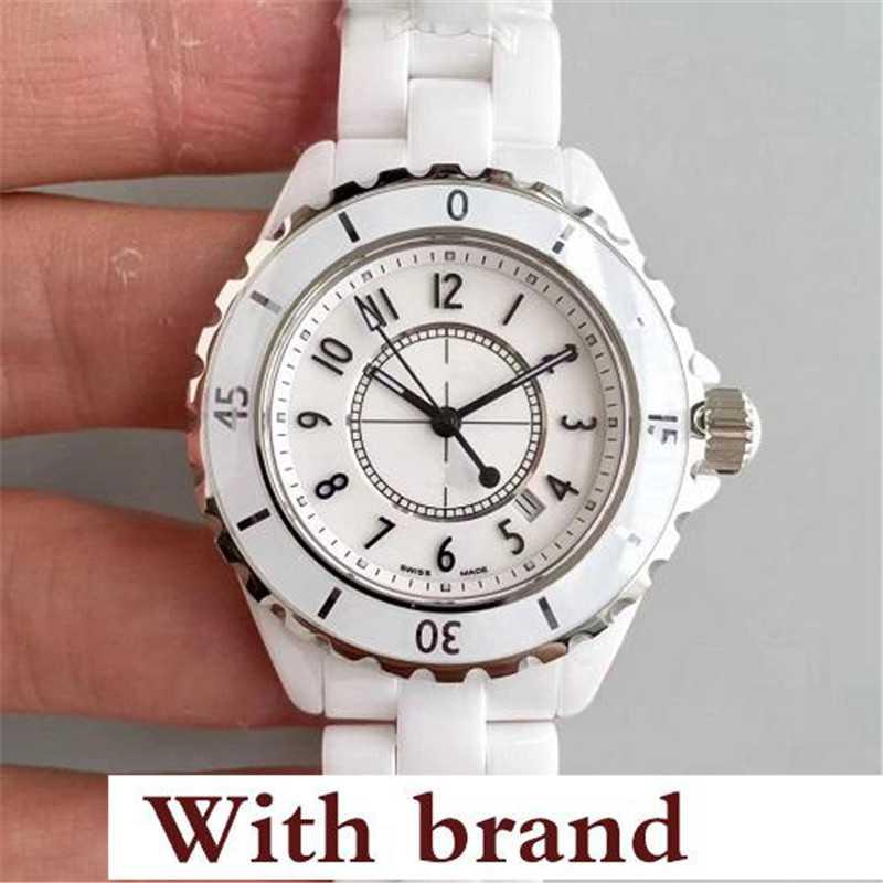 New Lovers Watch Mens Fashion Women Watch Luxury Casual Waterproof Quartz Ceramic Watches Ladies Wristwatch Gifts Female