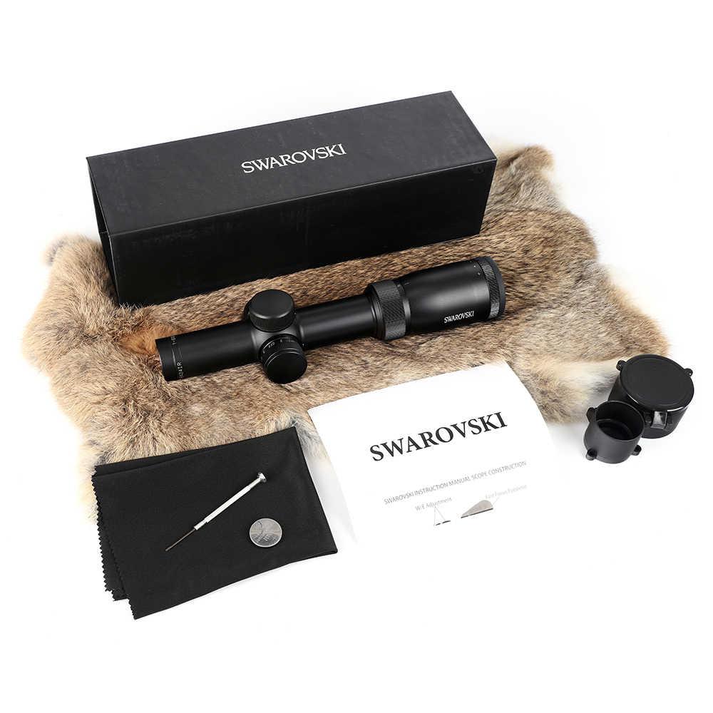 Imitação swarovskl riflescope 1-6x24irz3 f15 ou f101 círculo ponto pontuar diferenciação vista vidro rifle scope feito na china