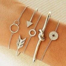 Diezi богемный браслет с узлом и компасом брифы для девушек