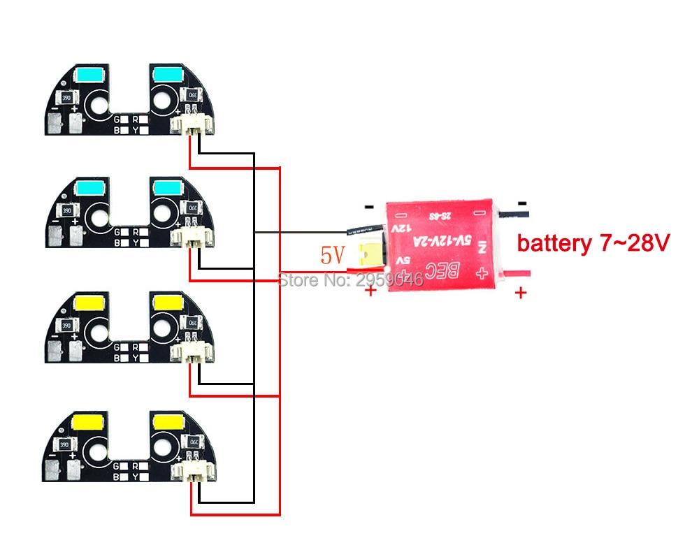 drone led lights zmr model apm 2 6 2 5 2 8 led light tbs discovery navigation light [ 1000 x 800 Pixel ]