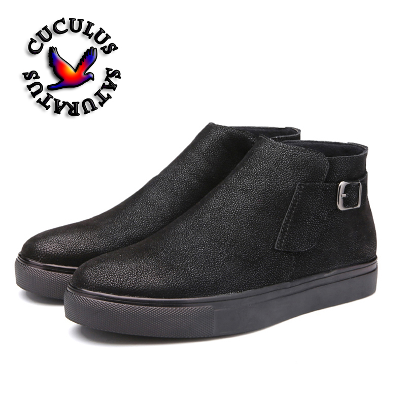 Фотография Cuculus Hot Man Brand british style casual shoes High Quality Leather surface Waterproof Anti-skid outdoor shoes 444