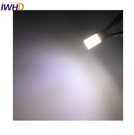 Купить с кэшбэком IWHD 5pcs G9 LED 220V LED Bulb 1W COB 100lm Warm White/White G9 LED Bulb For Home Lighting Milky Cover High Bright Spotlight