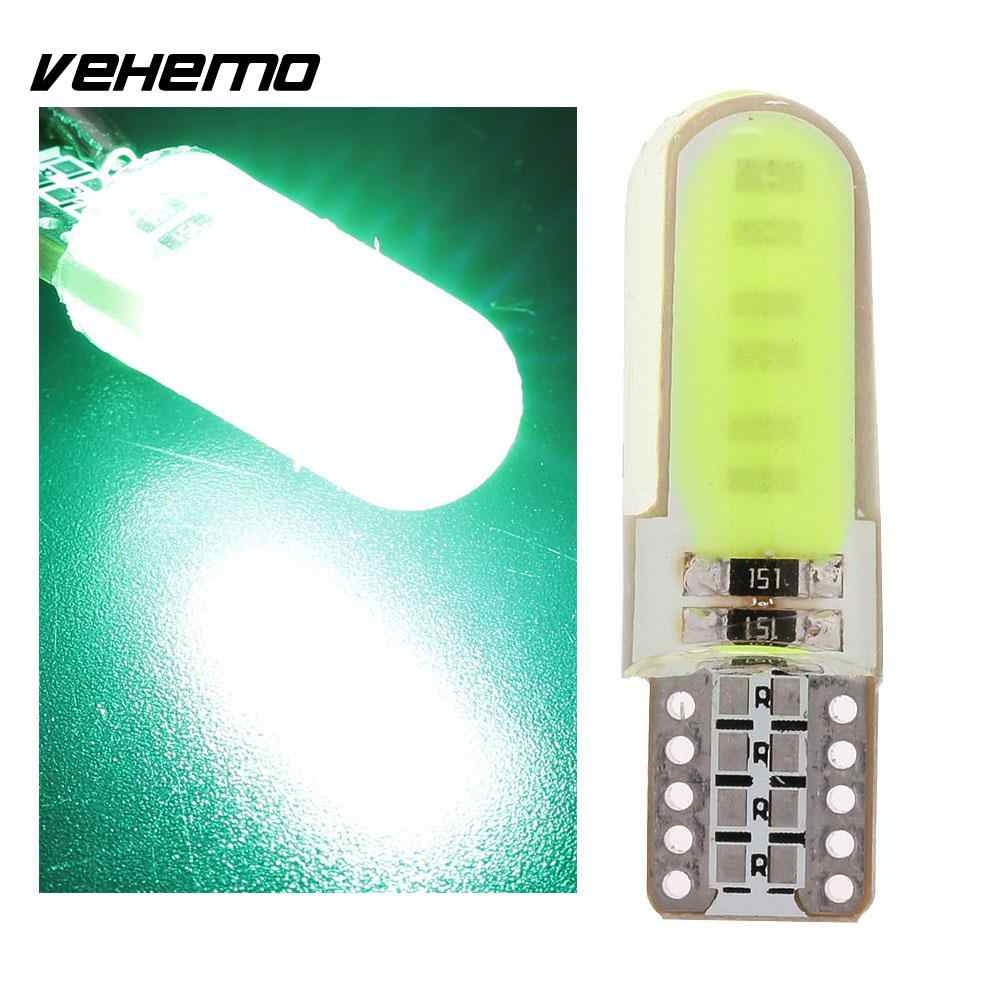 Luces delanteras COB Auto cuña placa de licencia giro señal luces Lámpara transparente