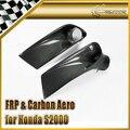 Car-styling Carbon Fiber Front Bumper Air Duct Fit For Honda S2000 AP1