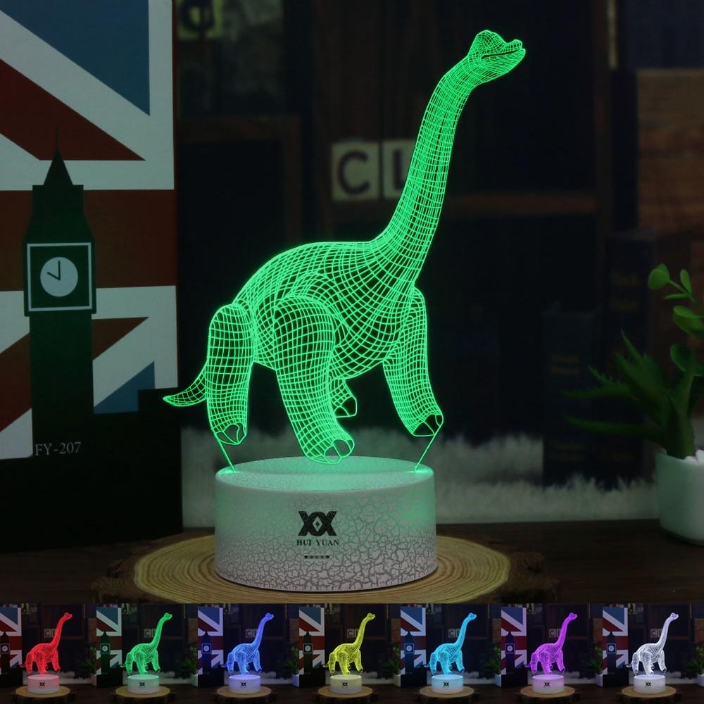 3D Illusion Dinosaur Decorative LED Light