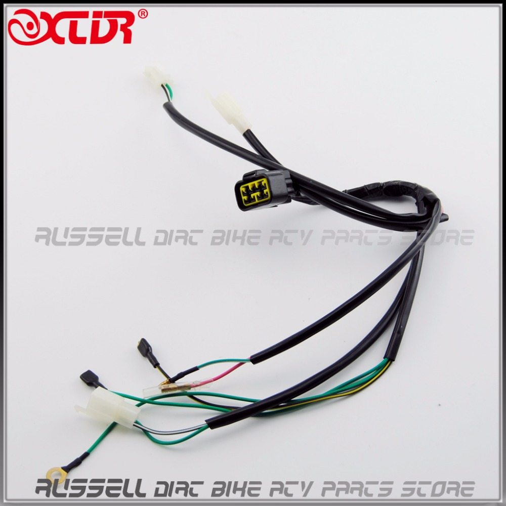 Kick Start Engine Wiring Harness For 50 110 125 140CC Trail PITPRO – Dirt Bike Wire Harness
