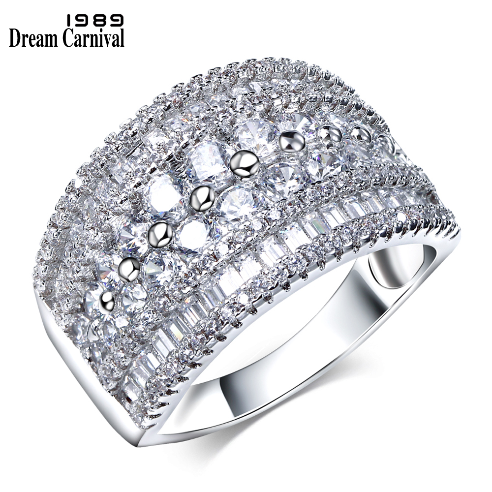 Dreamcarnival 1989 Thick Band High Quality Cubic Zircon Crystal
