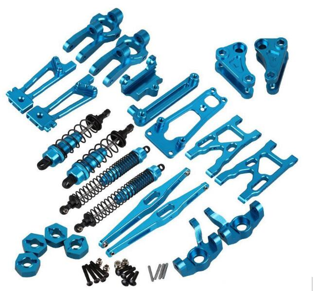 WLtoys K949 10428-A 10428-B 10428-C Rc Car Spare Parts Metal Upgrade Accessories Swing Arm Rear Axle Rod C Seat Steering Cup