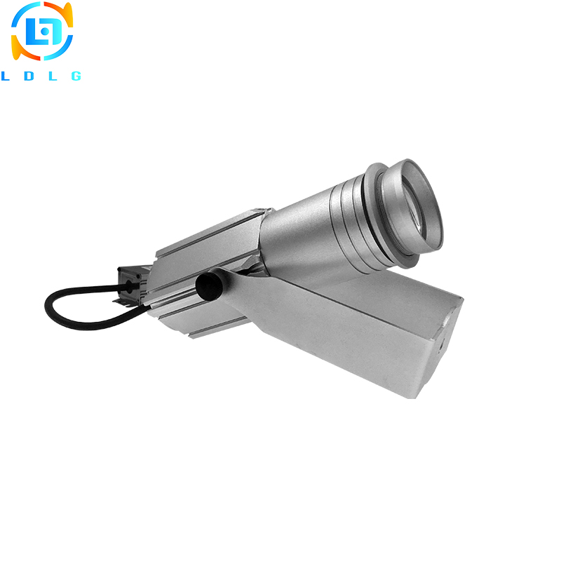 LDLG Fashion Advertising Lights Rotable Hotel Cinema Lighting Logo Custom 20W Gobo Led Projector Waterproof Hot Sale