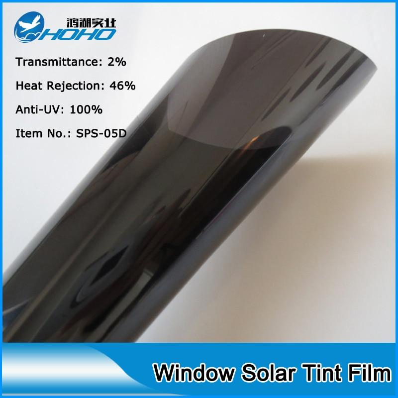 20 x60 152cmx50cm low reflective high uv rejection solar for 20 window tint film