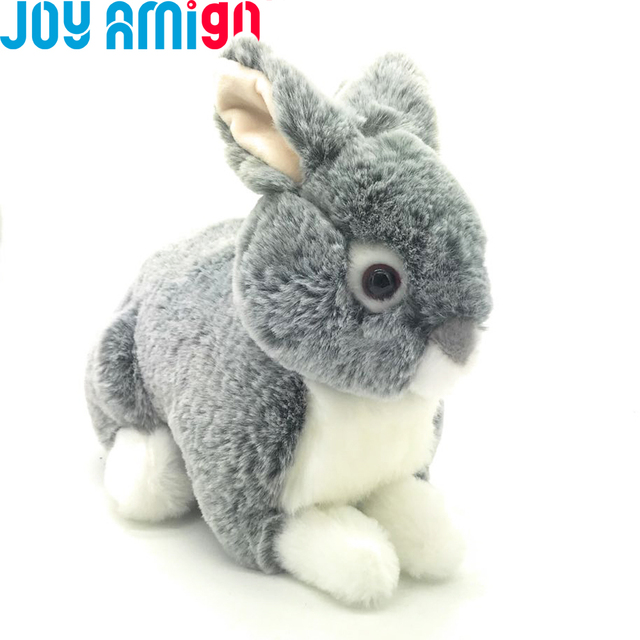 Classic Realistic Styling Bunny Stuffed Animal Plush Rabbit Toy Made