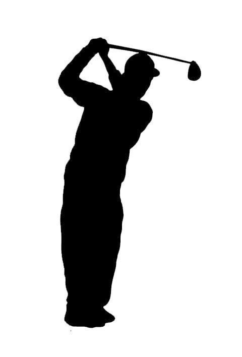Buckoo Sport Wandtattoo Kunst Aufkleber Zitat Vinyl Golf Golfer