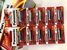 50pcs/lot New Original Battery For Panasonic LRV08L-1B5C 12V A23 23A Ultra Alkaline Battery/Alarm Batteries