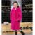 Crianças Natual Todo Casaco de Pele de Coelho Outono Inverno Crianças Quentes pele Com Capuz Casaco Longo Casaco De Pele Do Bebê Grils V-Neck Outerwear CoatC #10
