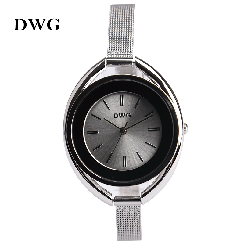 Подробнее о DWG Brand Analog Display Relogio Quartz Watch Fashion Women Wristwatch Relojes Mujer Montre Femme Ladies Luxury Slim Strap Clock 2017 hodinky kimio brand fashion women analog quartz watch luxury ladies pearl crystal wrist watch relojes mujer montre femme