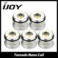 IJOY Tornado Nano Chip Coil 0.3ohm 0.6ohm with Led Lights Inside Replacement Atomizer Head for Tornado Nano Vape Tank 5pcs/lot