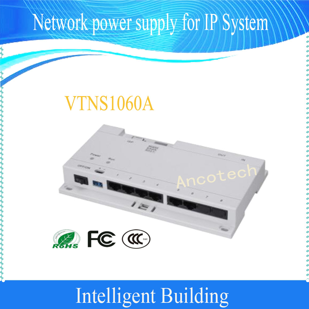 Free Shipping DAHUA POE Switch for IP System without Logo VTNS1060A free shipping dahua 4 port poe managed switch camera support ieee802 3af ieee802 3at hi poe standard without logo pfs4206 4p 120