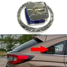 For Peugeot Logo Metal Sticker Side Rear Window Emblem For 107 108 208 301 407 301 508 608 2008 3008 4007 4008 5008 Car Tuning ксенон kingwood 508 301 3008 2008