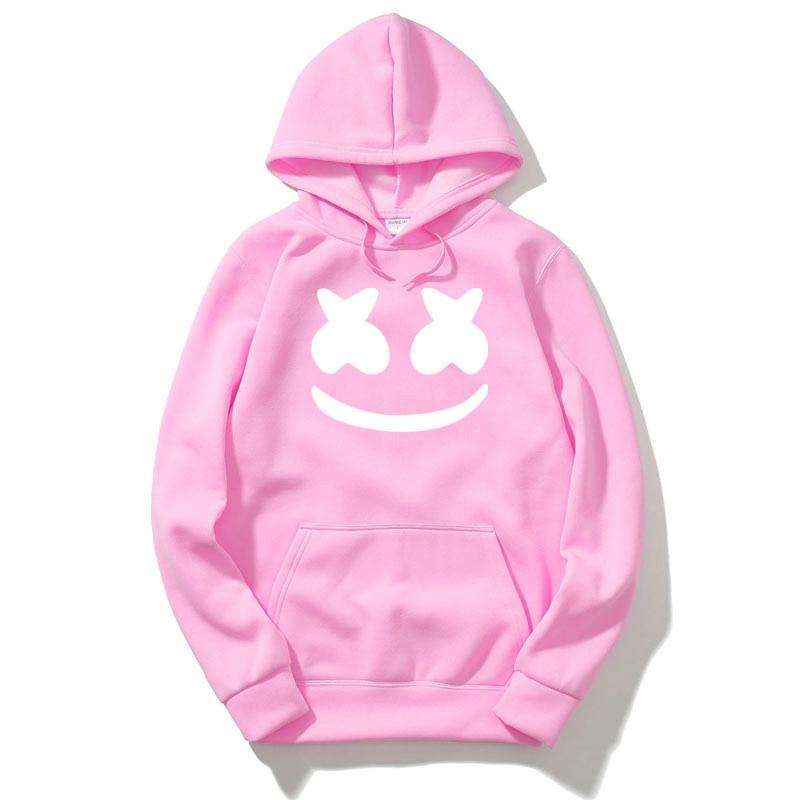2018 Suprem Hip Hop Hoodies Sweatshirts Pink Autumn New Spoof Cartoon Fashion Printing 1:1 Casual Sweatshirts Men/Women Hoody
