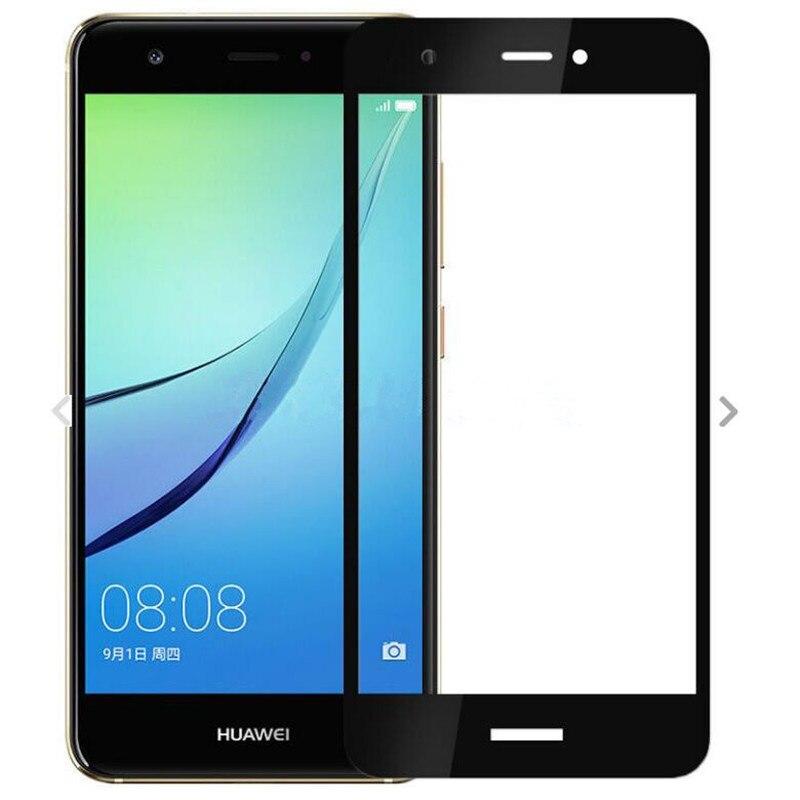 Full Cover Tempered Glass For Huawei Nova Nova 2 Plus 4 3 3i 2S 2i i 1 NovaPlus Nova2 Nova3 Lite 3E Screen Protector Color Film