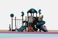 2019 Shipped to U.S.A Multi functional Kids Playground With Swing 2018JZCS D005