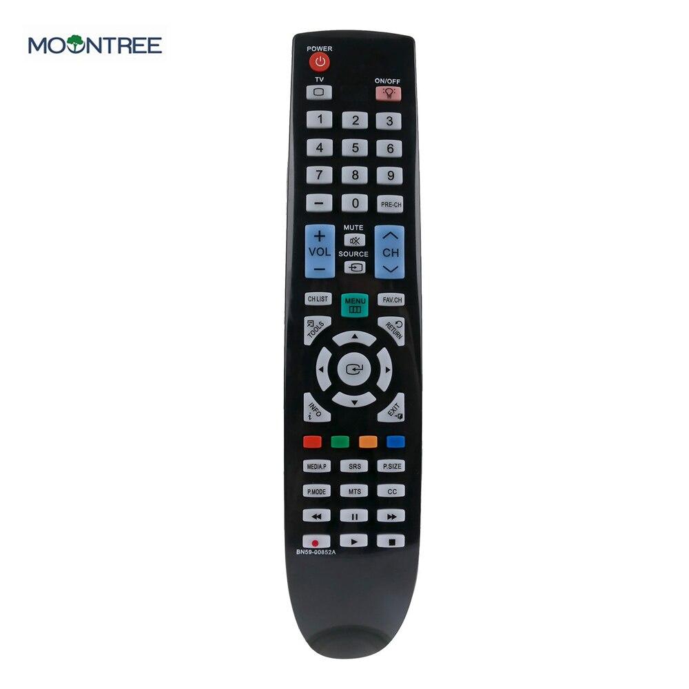 BN59-00852A пульт дистанционного управления для samsung Пульт дистанционного управления 433 МГц пульт дистанционного управления ЖК-дисплей светодиодный телевизор HD tv sensibo подходит для LN37B550K1FXZC LN40B550 - Цвет: Черный