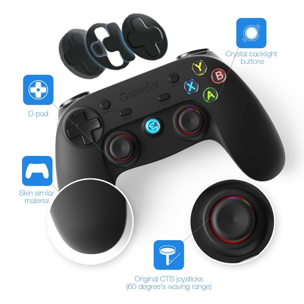 GameSir G3s Bluetooth Wireless Gaming Controller Gamepad for PC - Spill og tilbehør - Bilde 3