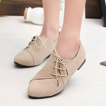 2016 new color PU candy color flat shoes fashion British style shoes comfortable sexy women shoes wholesale EUR35-39